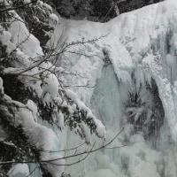 乗鞍高原 善五郎の滝 氷瀑
