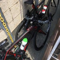 妻とサイクリング