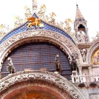 おきまりのサンマルコ寺院 in ヴェネツィア