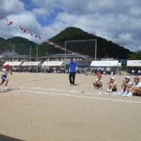豊田小学校の運動会、しんぶん赤旗の拡大も