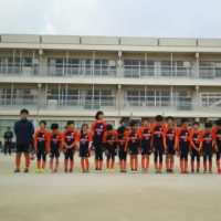 Aチーム最後のグラウンド練習