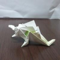ステゴサウルス(折り紙)