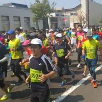 本日は洞爺湖マラソン!!