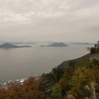 屋島から瀬戸内海を望む。
