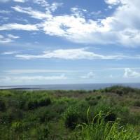 2016年小笠原村硫黄島慰霊墓参(266)平和記念会館前からの硫黄島の海