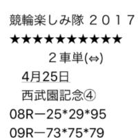 4/25 西武園記念 最終日