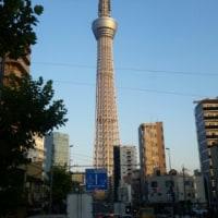 秋晴れの東京