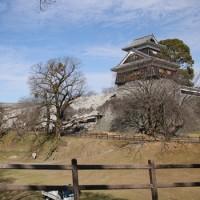 益城町と熊本城