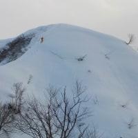 雪の遊歩道を歩く(その2)