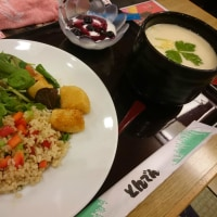 新潟帰りの夕食