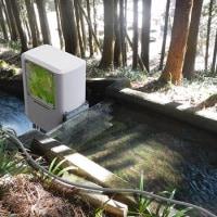 環境ビジネスという雑誌の記事です。相反転方式小水力発電機
