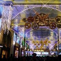 阪急梅田のクリスマスイルミネーション
