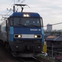 2017年4月24日,今朝の中央線 81レ EH200-16