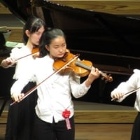 Mちゃん(孫)のヴァイオリンコンサートがありました