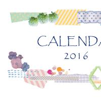 2016年度カレンダー完成しました☆