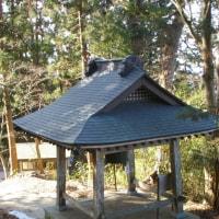 福島県二本松市、木幡山の銅鐘と展望台からの眺めです!!