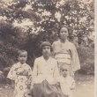 戦中の家族写真