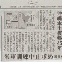 沖縄本土復帰45年