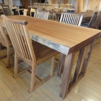 【年に1度の決算セールのご案内。22日(sat) start!!】一枚板テーブル、木の家具が決算セール価格。一枚板と木の家具の専門店エムズファニチャーです。