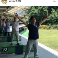 みんなで一緒にゴルフスイング体操!…の動画