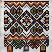 ウクライナ刺繍サンプル