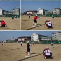 練習試合(明石商業高校)