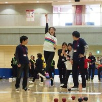 ロンブー田村亮、蛯原友里がボッチャに初挑戦…「2017ボッチャ東京カップ」