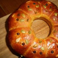 かぼちゃちぎりパン
