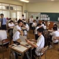 相互授業参観で先生方もアクティブに研修中