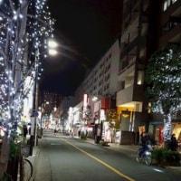 三鷹駅前通り クリスマスイルミネーション