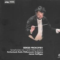 J.ガフィガン+オランダ放送フィル=プロコフィエフ「交響曲第3&4番」