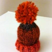 棒針で作るクリスマスオーナメント Miniature Hats☆