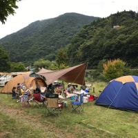 河内川ふれあいビレッジオートキャンプ場1日目(1)