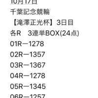 10/17 千葉記念競輪 3日目