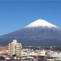富士山の見える家