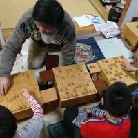 12月5日子供教室の風景。