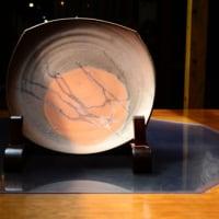 備前焼作家・恒枝直豆さんの個展がはじまりました。