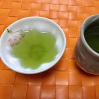 お茶と湯呑みの お洒落な関係