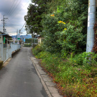 奈良県天理市窪之庄町と森本町の間の風景