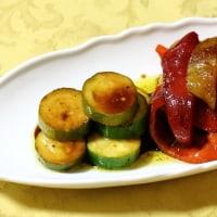エビチリ丼&鶏ササミのクリーム煮