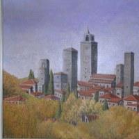 海外旅行で描いた油彩画(その20)