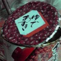 賞味期限の切れた小豆缶詰