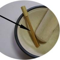 竹のブラシ