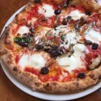 polipoさん Nàpoli Pizza 皆んなで食べれば怖くないメタボ (笑)