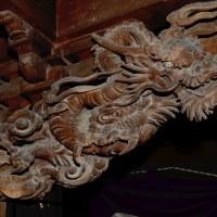 ■30P 白狐稲荷神社(諏訪市四賀) ~大隅流~鯉の海老虹梁