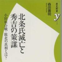 「北条氏滅亡と秀吉の策謀」森田善明・著