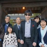 ヴァイオリニスト / 増田太郎さんご来山
