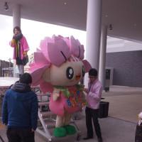 大村藩宿場まつり 大村市のマスコット・おむらんちゃん 2017・2・11