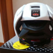 物見山 雨 ヘルメット購入