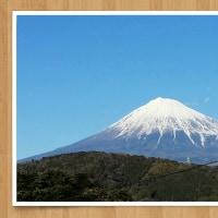 富士川楽座からの今日の富士山